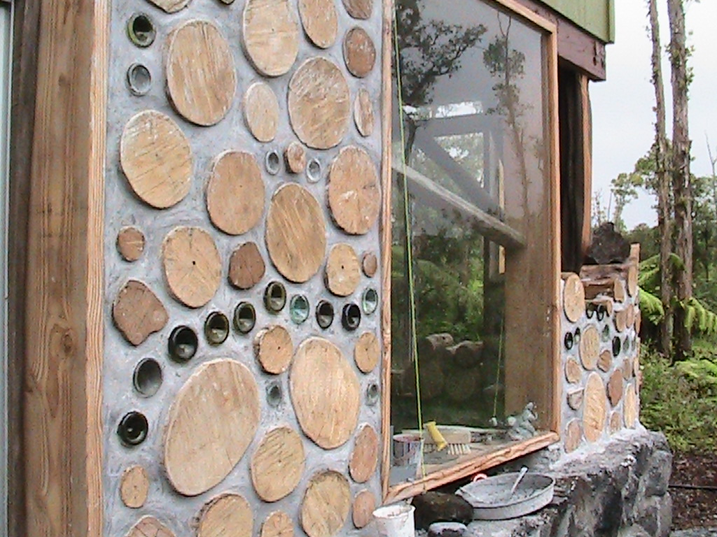 cordwood walls