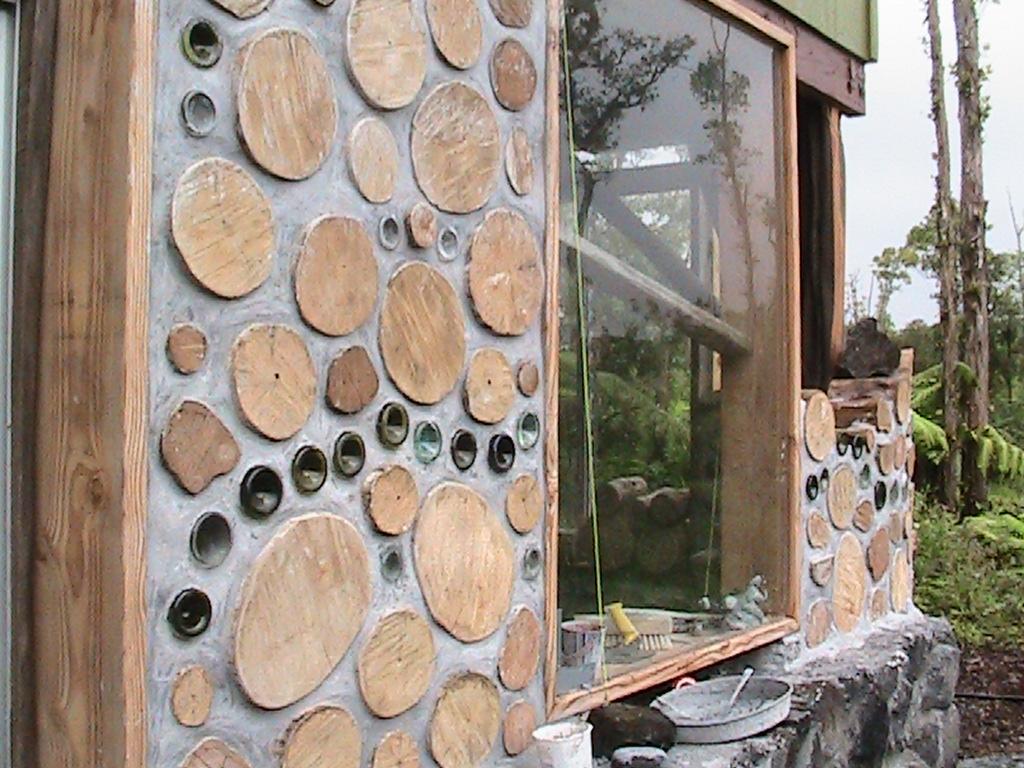 cordwood walls