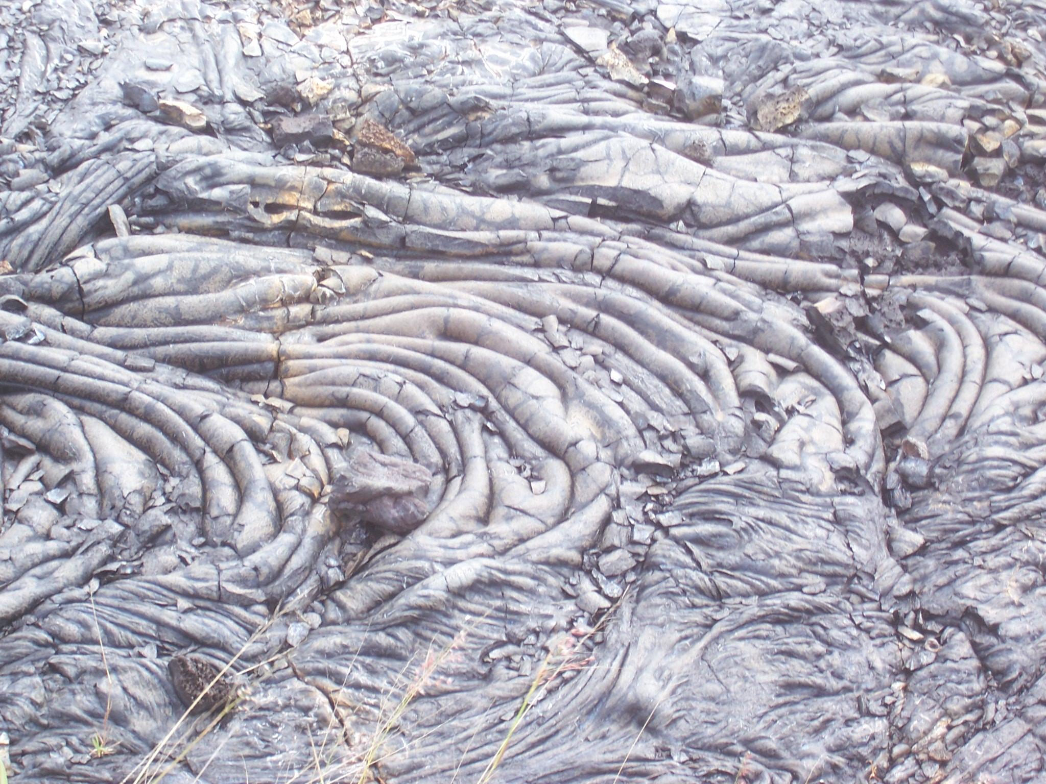 cooled lava