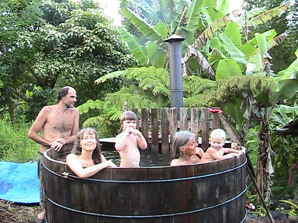 relaxing tub